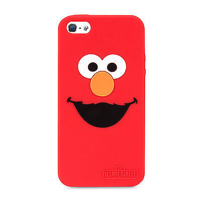 Sesame Street Elmo Silicone Case for iPhone 5 / 5S