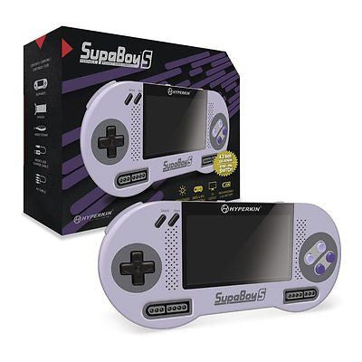 Hyperkin SupaBoy S Portable Pocket Super Nintendo SNES Retro Game Console