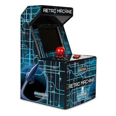 dreamGEAR My Arcade Retro Portable Machine Gaming System w/ 200 Built-in Games
