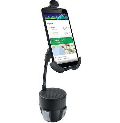 iSound Universal Car Cup Holder Mount for iPhones, Androids, and Others