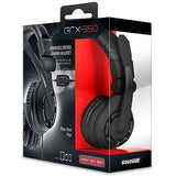 dreamGEAR GRX-350 Advanced Wired Gaming Headset for Xbox One / Xbox 360 / PS4 / PS3 / PC / Wii U / Wii