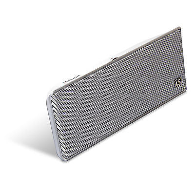 iSound GoSonic Stereo Rechargeable Portable Speaker - White