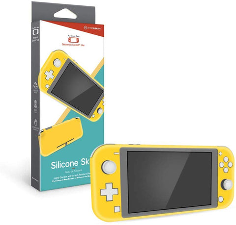 Hyperkin Silicone Skin Console Case for Nintendo Switch Lite - Yellow