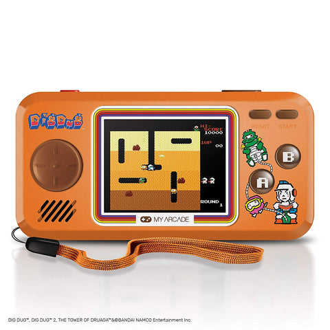 My Arcade Dig Dug Pocket Player Portable Handheld