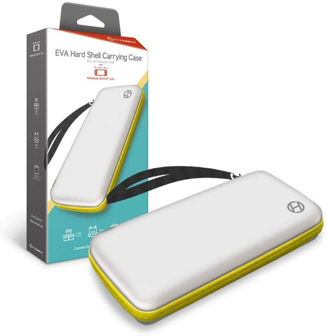 Hyperkin EVA Hard Shell Carrying Case for Nintendo Switch Lite - White/Yellow