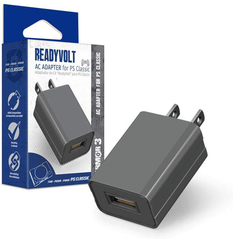 "Armor 3 ""ReadyVolt"" USB AC Adapter for PS Classic"