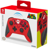 HORI Nintendo Switch Wireless HORIPAD Rechargeable Controller - Mario Edition