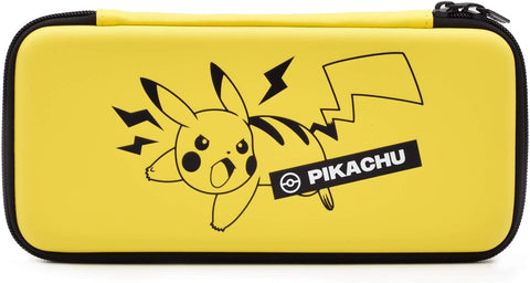 Hori Official Pokemon Pikachu Emboss Case for Nintendo Switch