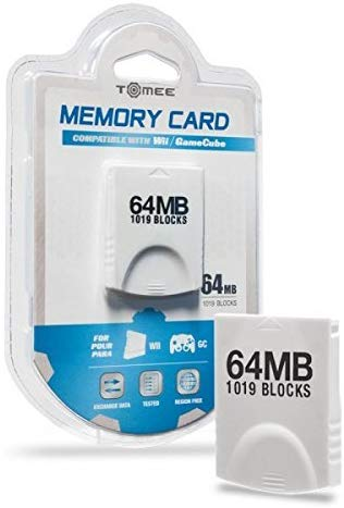 Tomee GameCube / Wii  64MB Memory Card (1019 Blocks)