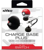 Nyko Charge Base Plus Charging Dock and Carrying Case for Poké Ball Plus Nintendo Switch