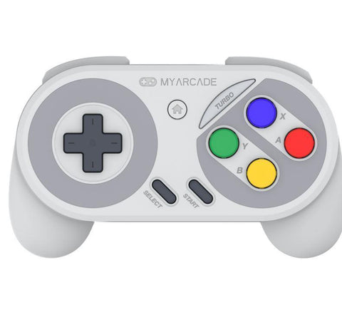 MY ARCADE Super Gamepad Wireless Controller for Nintendo NES & SNES Classic Edition - Super Famicom Edition