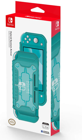Hori Official Nintendo Switch Lite Hybrid System Armor TPU Case - Turquoise