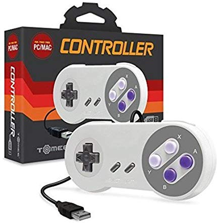 Tomee SNES-Style USB Controller for PC/Mac