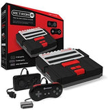 RetroN 2 2in1 Super Nintnedo SNES & NES Retro Video Game Twin Console - Black