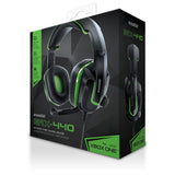 dreamGEAR GRX-440 Wired High Performance Headset for Xbox One/PS4/Nintendo Switch - Green/Black