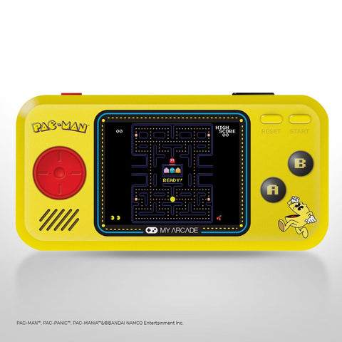 My Arcade PAC-MAN™ Pocket Player - 3 Games: PAC-MAN™, PAC-MANIA™ and PAC-PANIC™