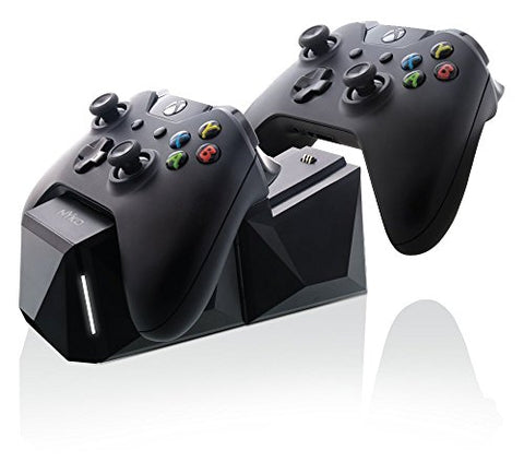 Nyko Charge Block Duo Dual Controllers Charging Dock for Xbox One - Black