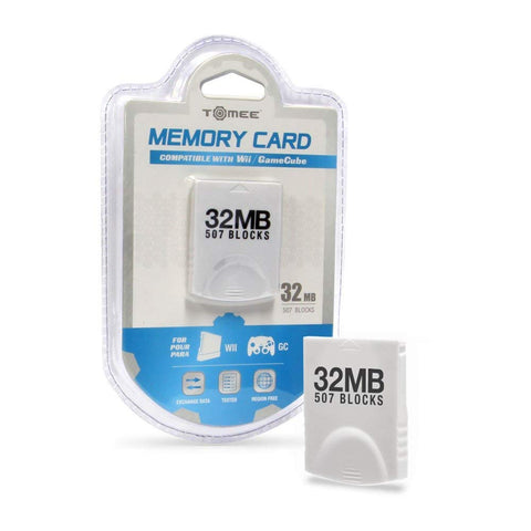 Tomee GameCube / Wii  32MB Memory Card (507 Blocks)