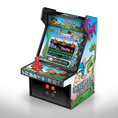 MY ARCADE Data East Caveman Ninja Micro Arcade Machine Portable Handheld Video Game