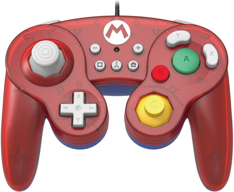 HORI Nintendo Switch Battle Pad GameCube Style Controller - Mario