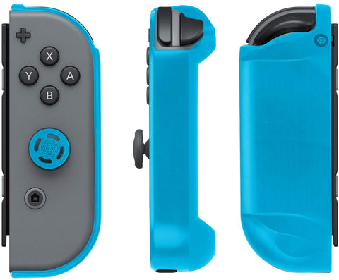 PDP Nintendo Switch Joy-Con Armor Guards Grips - (2 Pack) Blue & Black