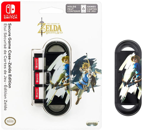 PDP Official Nintendo Switch Secure Game Case - Zelda Edition