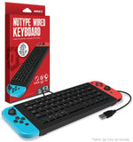 "Armor3 ""NuType"" Wired Keyboard for Nintendo Switch"