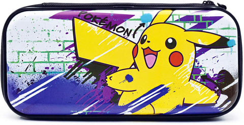 Hori Official Nintendo Switch & Switch Lite Premium Vault Case - Pokemon Pikachu Edition