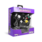 TTXTech GC Wireless Wavedash 2.4GHZ Controller for Nintendo GameCube and Wii/Wii U - Black