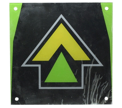 DDR Energy Recessed Arrow for Energy Metal and Energy Arcade Metal Dance Pads