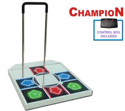 DDR Champion Arcade Metal Dance Pad for PS2 / PS1