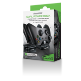 dreamGEAR Xbox One Dual Power Dock Charger Includes 2x Rechargeable Battery Packs