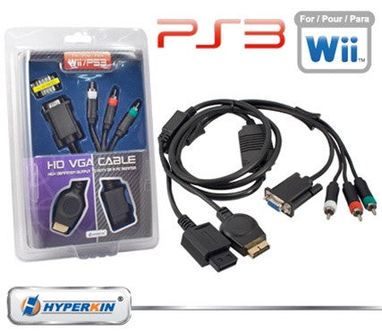 PS3 / Wii VGA Cable