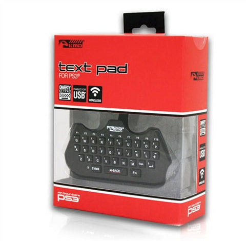 PS3 Text Pad Chat Messaging Keyboard