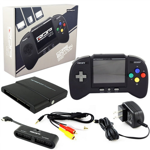 RetroDuo Portable Handheld Console V2.0 CORE Edition - Black