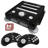RetroN 3 NES, SNES, Sega Genesis Video Game Console 2.4 GHz Edition - Black