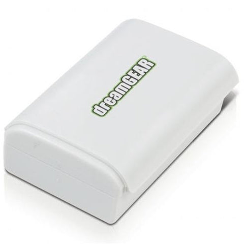 Xbox 360 Power Brick Rechargeable Battery Pack (White / Black)