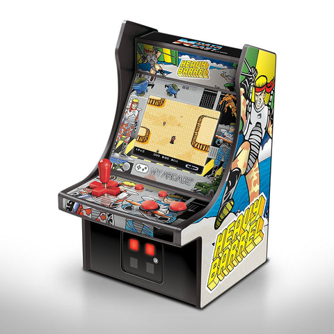 MY ARCADE Data East Heavy Barrel Micro Arcade Machine Portable Handheld Video Game