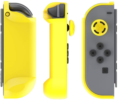 PDP Nintendo Switch Joy-Con Armor Guards Grips - (2 Pack) Yellow & Black