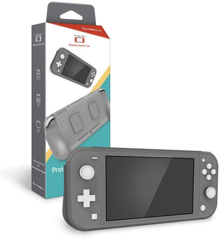 Hyperkin Protective Grip Case for Nintendo Switch Lite - Gray