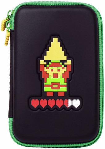HORI Retro Zelda Hard Pouch Case for New Nintendo 3DS XL, 3DS XL, 3DS,DSi,DSi XL