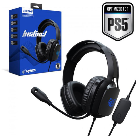 KMD PlayStation 5/4 Instinct Deluxe Gaming Headset for PS4/PS5