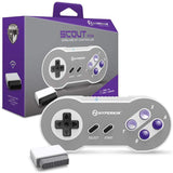 "- Hyperkin ""Scout"" Premium BT Bluetooth Controller for SNES/PC/Mac/Android (Includes Wireless Adapter"