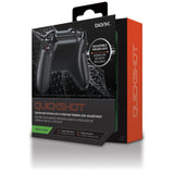 Bionik Quickshot Custom Rubber Grip w/ Dual Setting Trigger Lock for Xbox One Controller - Black