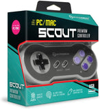 "Hyperkin ""Scout"" Premium SNES-Style USB Controller for PC/ Mac"