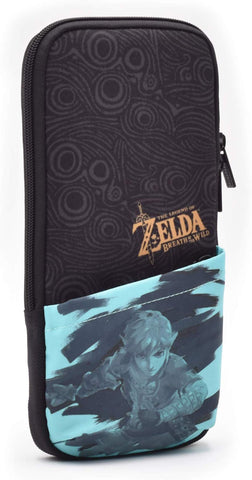 Hori Official Nintendo Switch Slim Pouch Case - The Legend of Zelda: Breath of the Wild Edition