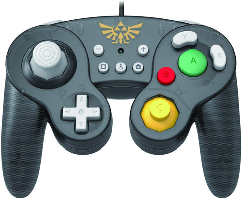 HORI Nintendo Switch Battle Pad GameCube Style Controller - Zelda