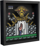 Pixel Frames Contra NES 9x9 inches Shadow Box Art - Officially Licensed