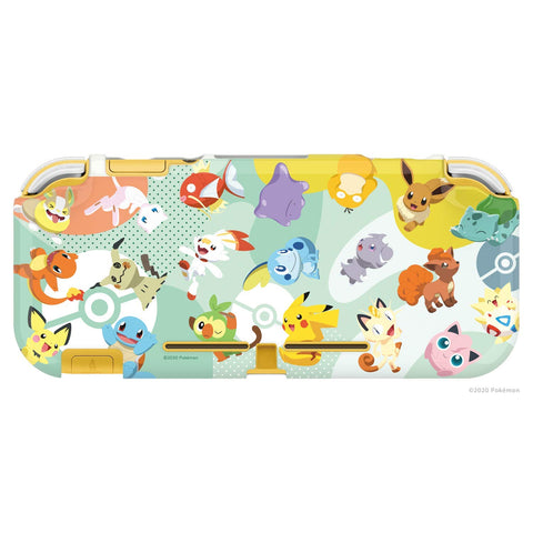 HORI Nintendo Switch Lite DuraFlexi Protector TPU Case (Pokemon: Pikachu & Friends) - Officially Licensed by Nintendo & Pokemon