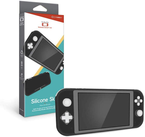 Hyperkin Silicone Skin Console Case for Nintendo Switch Lite - Black
